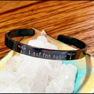 🆕 Diabetic Medical Alert Bracelet I got The Sugar